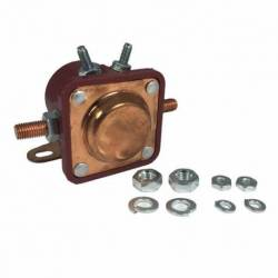 SOLENOID DELCO 12V 4T FORD JEEP VOLVO BLACK COPPER SCREW AUX