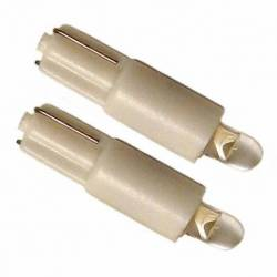 BULB 73 LED 12V T5 W2X4.6D 1LED WHITE 1C BLIST 2U