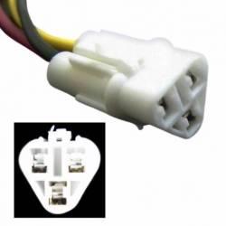 CONNECTOR LAMP TOYOTA COROLLA I 3W