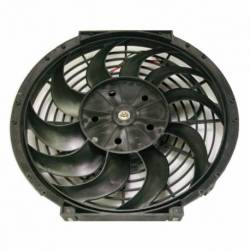 FAN COOLING UNIV 12 INCH 12V 10 BLADES HELICAL 80W