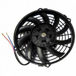 FAN COOLING UNIVERSAL 8 INCH 12V 80W 10 BLADE HELICAL