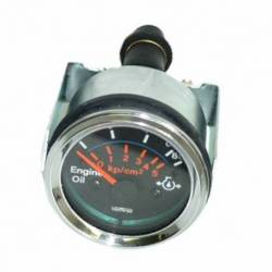 GAUGE OIL PRESSURE ELECTRIC 0-10 BAR 52mm 12V C-VAL