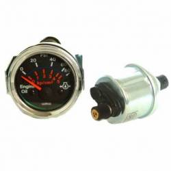 GAUGE OIL PRESSURE ELECTRIC 0-5 BAR 24V C-VAL