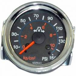 GAUGE OIL PRESSURE MEC 0-10 BAR 52mm 12V WO-PIPELINE