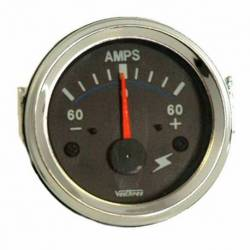 GAUGE AMPEREMETER 60-0-60 52mm 12V