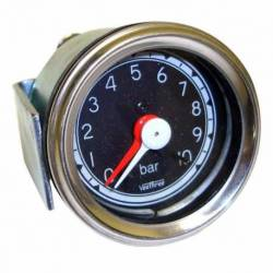 GAUGE AIR PRESSURE MECHANICAL 52mm 0-10 BAR CHROME
