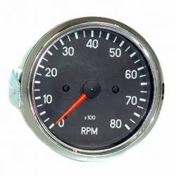 GAUGE RPM 0-8000 4-6-8 C 80mm 12V
