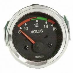 GAUGE VOLT 8-16V 52mm 12V
