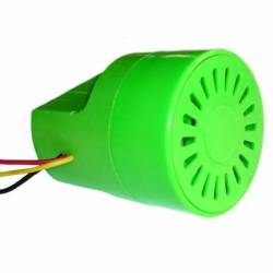 ALARM REVERSE MEDIAN GREEN 12V