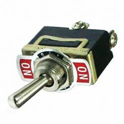SWITCH TOGGLE METALLIC ON-OFF 2 TERM 25A