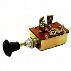 SWITCH LIGHT 3 POSITION 4 TERM 12V WO-FUSE
