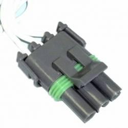 CONNECTOR TPS Y VALVE PRESSURE OIL GM 80-90 F 3W