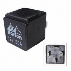 RELAY 4P DOUBLE ACTION UNIVERSAL 12V 30A WO BASE