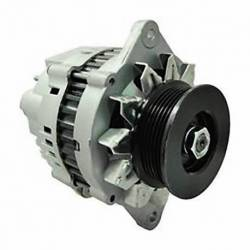 ALTERNATOR ISUZU NPR 4DB1 L4 3.9L WITH PUMP 90-97 MRF HITACHI 12V 80A CW S6