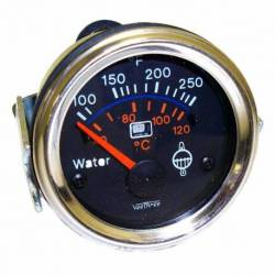 GAUGE TEMPERATURE W-LED WARING 52mm CHROME