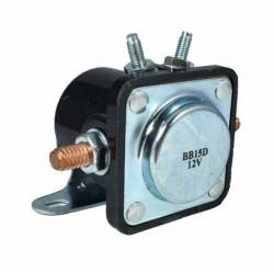 SOLENOID DELCO 12V 4T FORD JEEP VOLVO BLACK 67-91 AUXILIARY