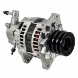 ALTERNATOR ISUZU NPR NKR 4HF1 WITH PUMP 94-01 MRF HITACHI 24V 60A CW V3